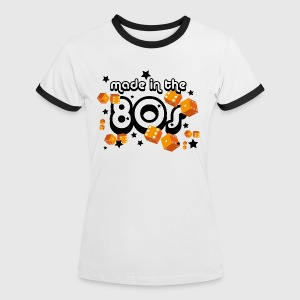 Damen Kontrast Shirt – Made in the 80s  - Frauen Kontrast-T-Shirt