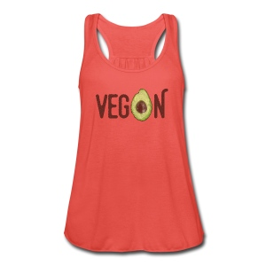Trendy Vegan Avocado Grunge Style Text - Frauen Tank Top von Bella