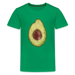 Trendy Yummy Avocado Grunge Style - Teenager Premium T-Shirt