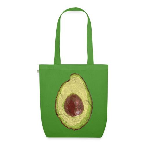 Trendy Yummy Avocado Grunge Style - Bio-Stoffbeutel
