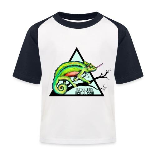 Shirt – Chamäleon (Kiddies) - Kinder Baseball T-Shirt