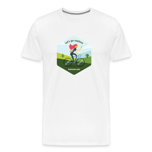 Let's go explore - Herren - Männer Premium T-Shirt