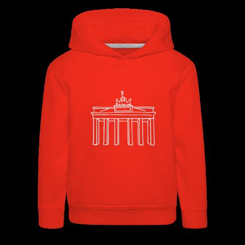 Berlin, Brandenburger Tor - Kinder Premium Hoodie
