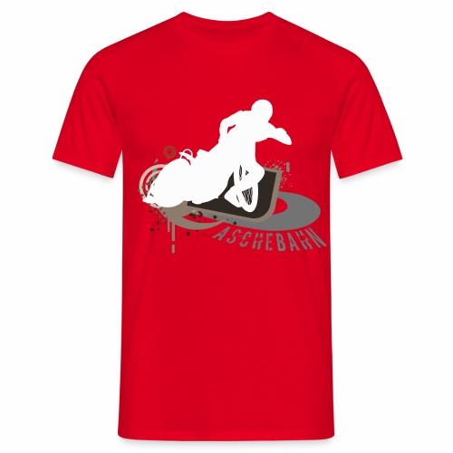 Aschebahn T-Shirt  - Männer T-Shirt