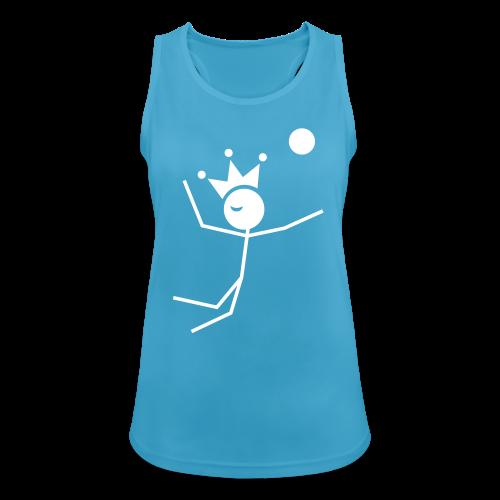 Volleybalkoningin tanktop ademend - Vrouwen tanktop ademend