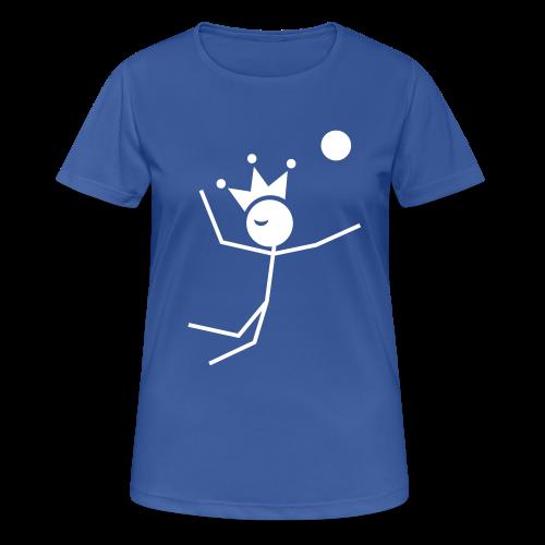 Volleybalkoningin T-shirt ademend - vrouwen T-shirt ademend