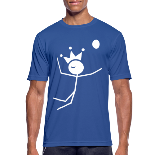 Volleybalkoning T-shirt ademend - mannen T-shirt ademend