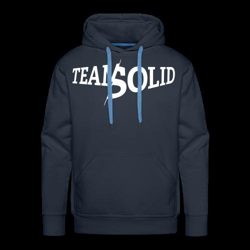 Clean TeamSolid - white - Männer Premium Hoodie