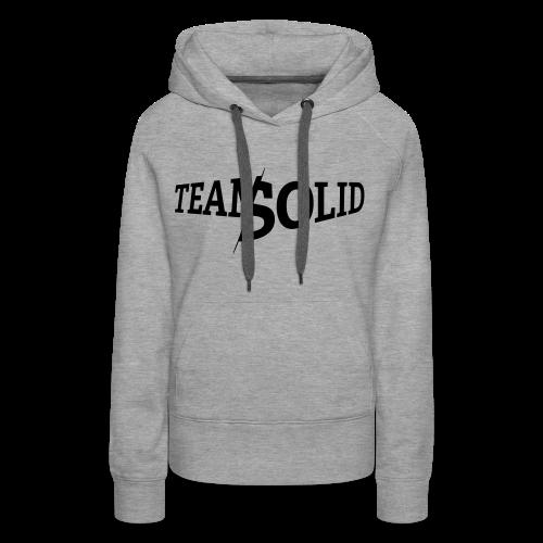 Clean TeamSolid - black - Frauen Premium Hoodie
