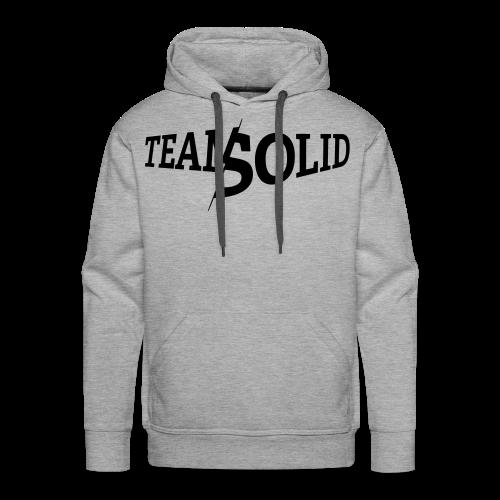 Clean TeamSolid - black - Männer Premium Hoodie
