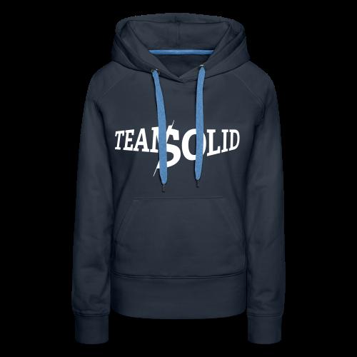 Clean TeamSolid - white - Frauen Premium Hoodie