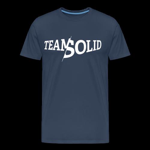 Clean TeamSolid - white - Männer Premium T-Shirt
