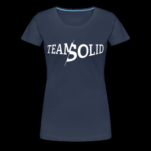 Clean TeamSolid - white - Frauen Premium T-Shirt