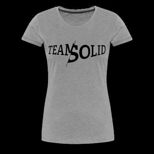 Clean TeamSolid - black - Frauen Premium T-Shirt