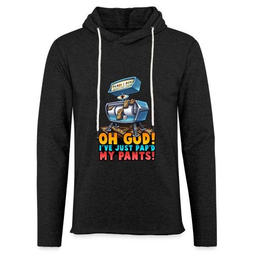 Pap'd Pants Light Hoodie - Light Unisex Sweatshirt Hoodie