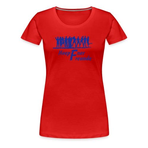Hoepfner Lady-Shirt 2016 -- blaue Schrift - Frauen Premium T-Shirt