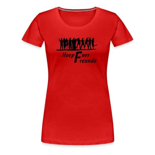 Hoepfner Lady-Shirt 2016 -- schwarze Schrift - Frauen Premium T-Shirt