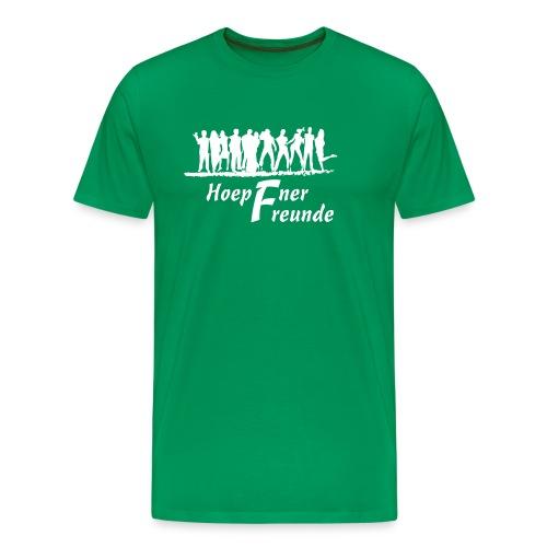 Hoepfner Herren-Shirt 2016 -- weiße Schrift - Männer Premium T-Shirt
