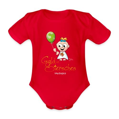 GoldSternchen - Kurzarm - Baby Bio-Kurzarm-Body