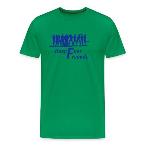 Hoepfner Herren-Shirt 2016 -- blaue Schrift - Männer Premium T-Shirt