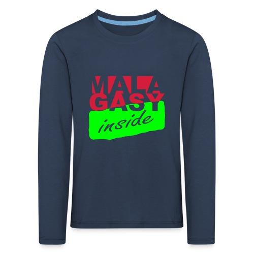 T-shirt manches longues Premium Enfant malagasy inside - T-shirt manches longues Premium Enfant