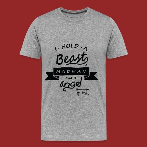 Beast Madman Angel - T-shirt Premium Homme