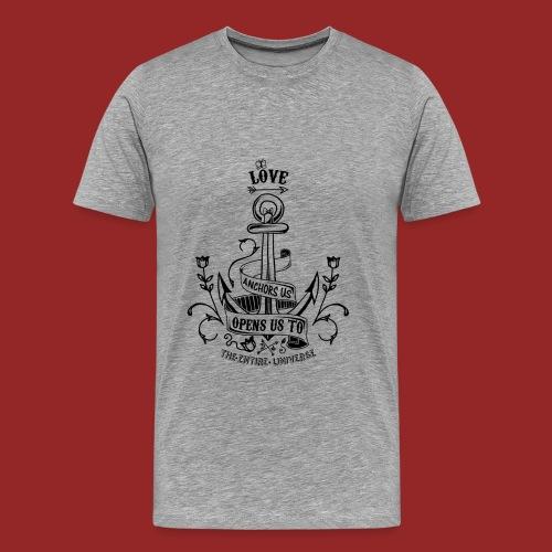Love anchor us - T-shirt Premium Homme