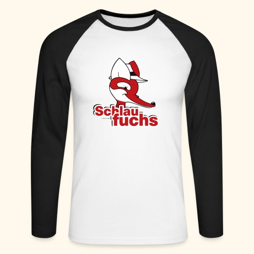 Männer Baseballshirt langarm Schlaufuchs - Männer Baseballshirt langarm