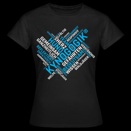 Kynogogik Wortwelt - Frauen T-Shirt