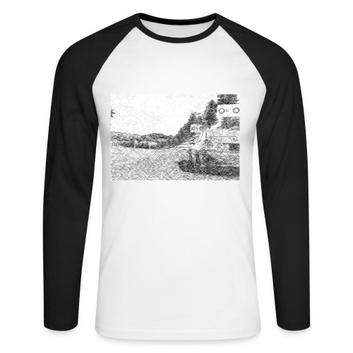 T-shirt baseball manches longues Homme LEXUS IS300 - T-shirt baseball manches longues Homme