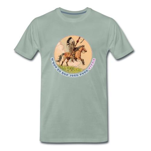 C'est un beau jour pour vivre 3 - T-shirt Premium Homme
