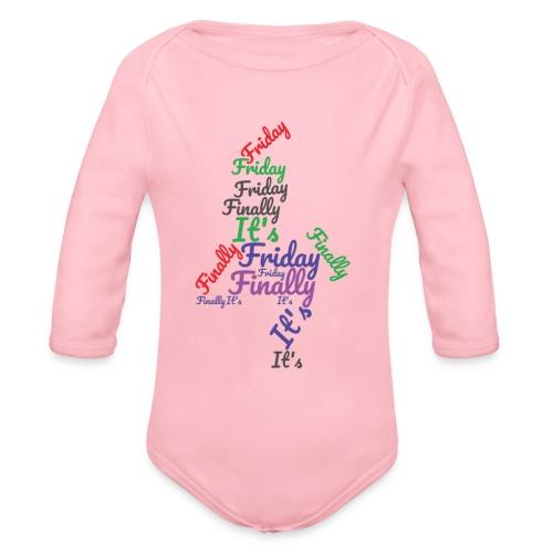 Body ecologico per neonato a manica lunga