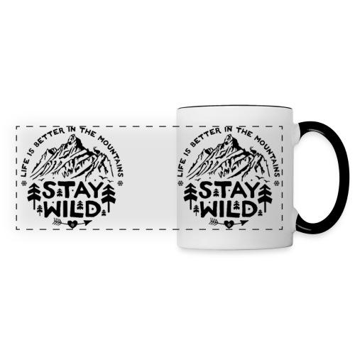 Stay Wild Tasse - Panoramatasse