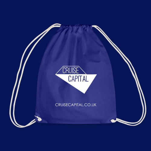 Cruise Capital Shore Excursion Bag - Drawstring Bag