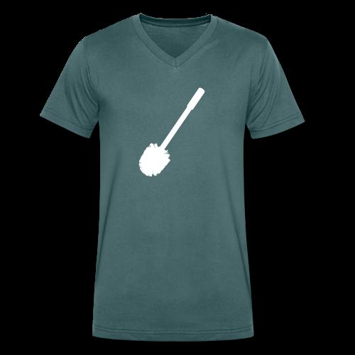 Heren v-hals - Mannen bio T-shirt met V-hals van Stanley & Stella