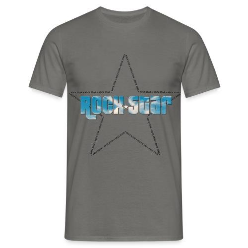 Rock Star Etoile Noire - T-shirt Homme