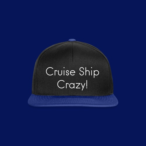 Cruise Ship Crazy Cap - Snapback Cap
