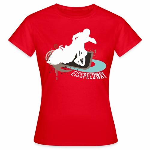 Eisspeedway T-Shirt  Damen - Frauen T-Shirt