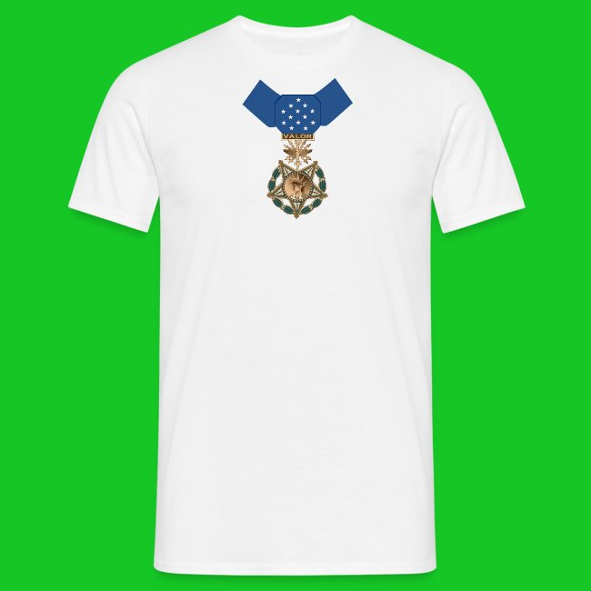 Medal of Honor mannen t-shirt