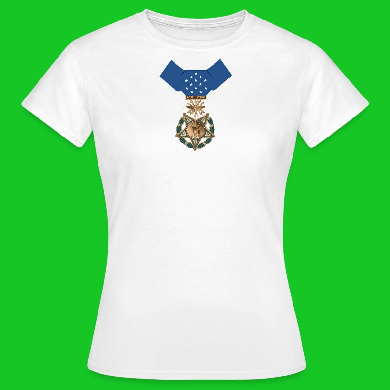 Medal of Honor dames t-shirt - Vrouwen T-shirt