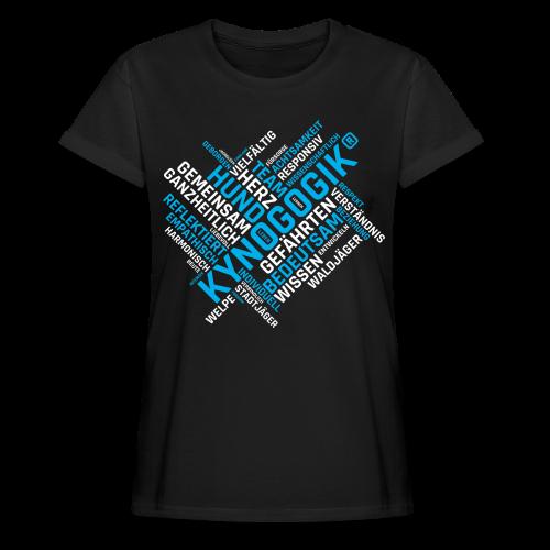 Kynogogik Wortwelt - Frauen Oversize T-Shirt