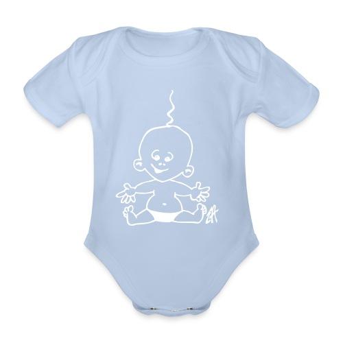 Ekologisk kortärmad babybody