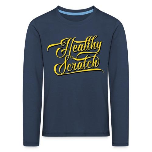 Healthy Scratch Children's Long Sleeve T-Shirt - Kids' Premium Longsleeve Shirt