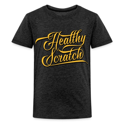 Healthy Scratch Teenager's T-Shirt - Teenage Premium T-Shirt