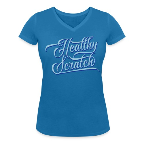 Healthy Scratch Women's V-Neck T-Shirt - Women's Organic V-Neck T-Shirt by Stanley & Stella