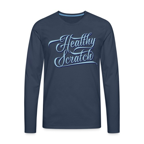 Healthy Scratch Men's Long Sleeve T-Shirt - Men's Premium Longsleeve Shirt