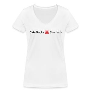 Het Enschedese Wapen (Ladies) - Vrouwen bio T-shirt met V-hals van Stanley & Stella