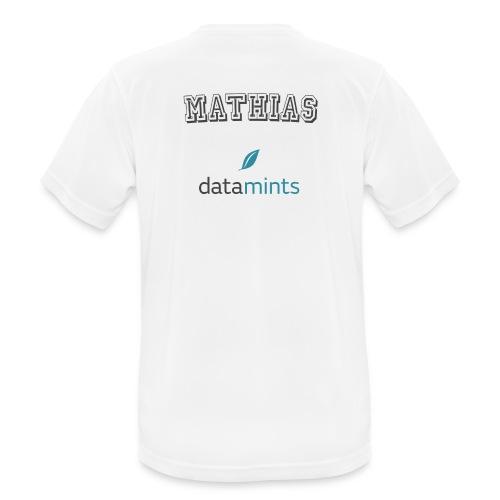 Mathias W - Männer T-Shirt atmungsaktiv