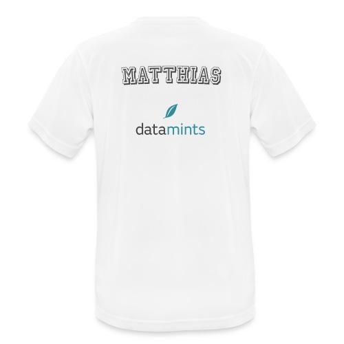 Matthias H - Männer T-Shirt atmungsaktiv