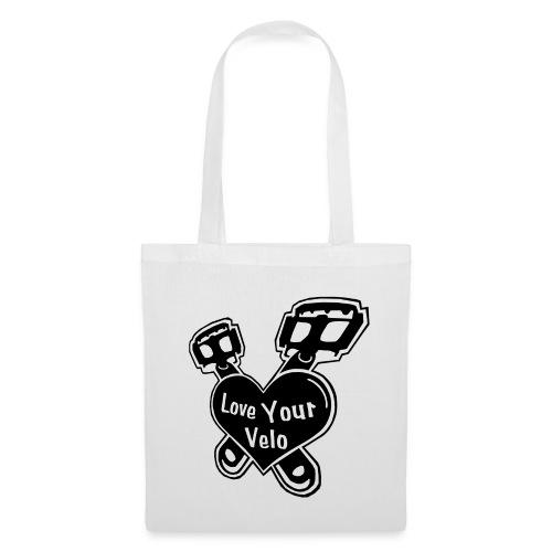 Love Your Velo Beutel - Stoffbeutel